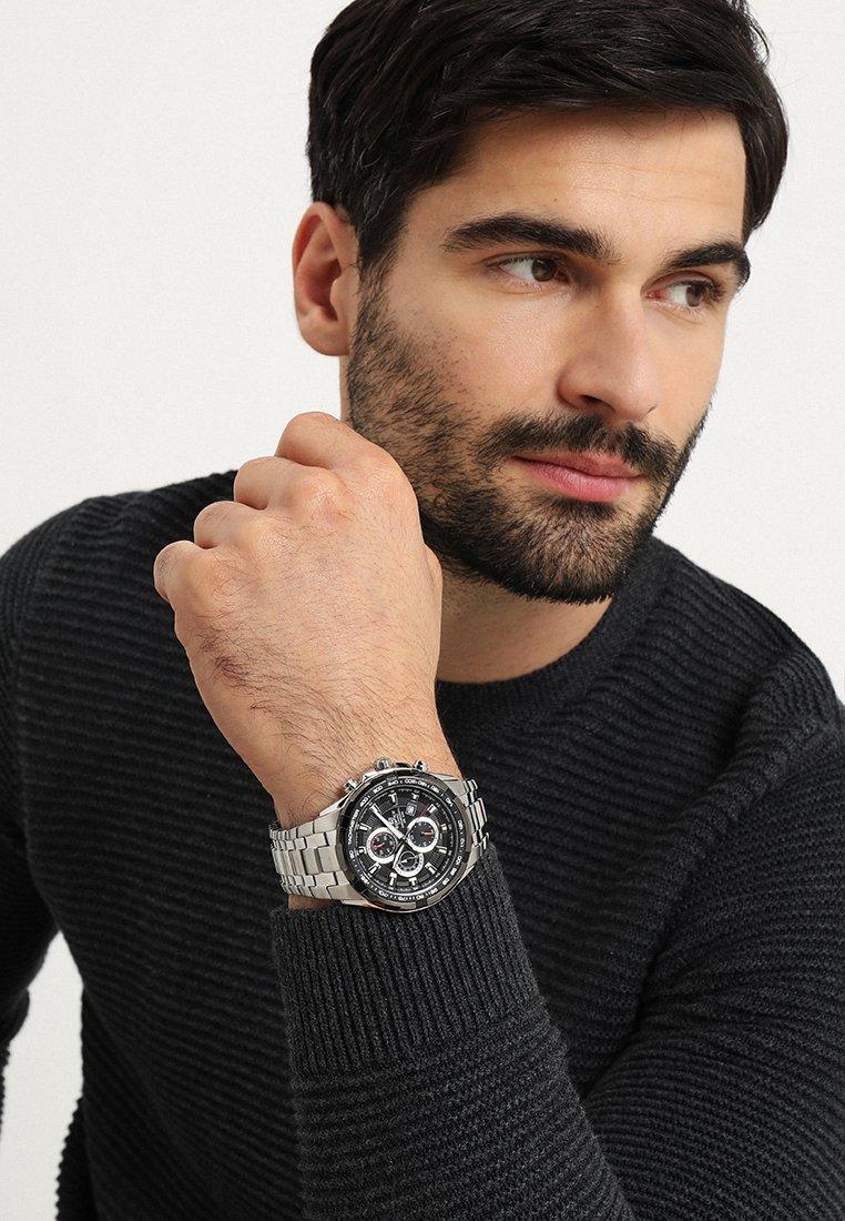 EDIFICE - Chronograph watch - silver-coloured/schwarz
