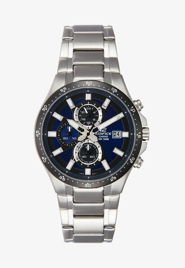 Chronograph watch - silver-coloured/blau