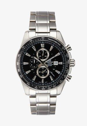 Montre à aiguilles - silver-coloured/black