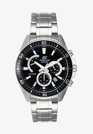 Kronografklokke - silver-coloured/black