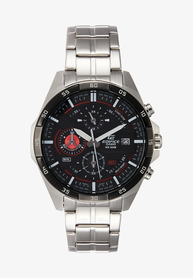 Chronograph - silver-coloured/black