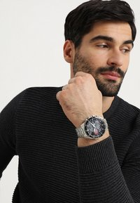 EDIFICE - Chronograph watch - silver-coloured/black - 0