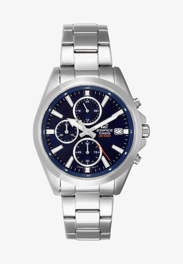 Chronograph - silver-coloured/blau