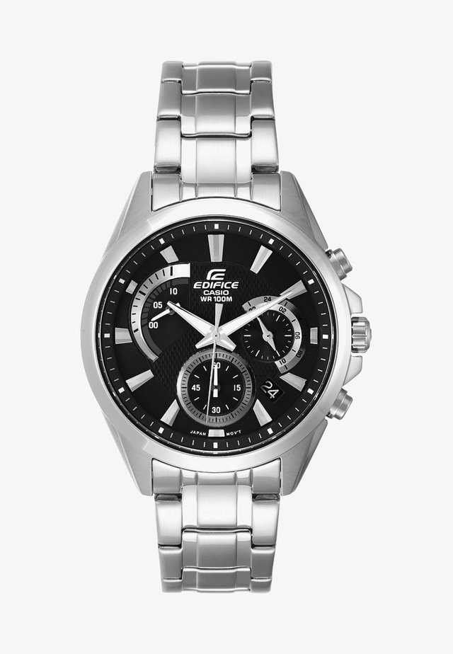 Chronograph - silver-coloured/schwarz