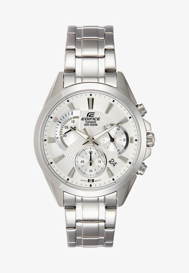 Chronograph watch - silber/weiss