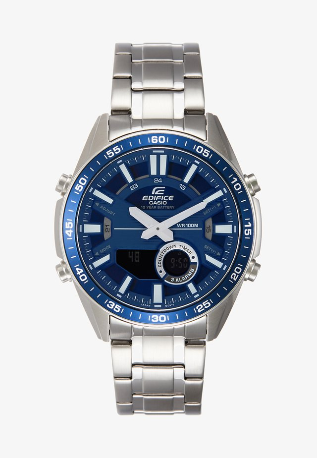 Chronograph - silver-coloured/blue
