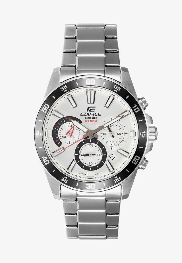 EDIFICE - Chronograph - silver-coloured