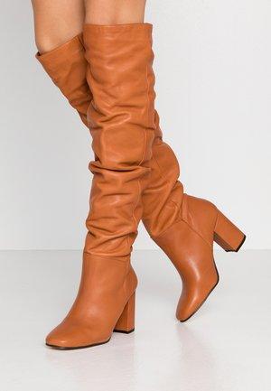 MARTJE - Boots - cognac