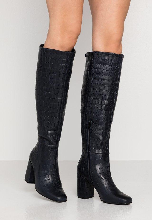 KASOTA - High heeled boots - navy