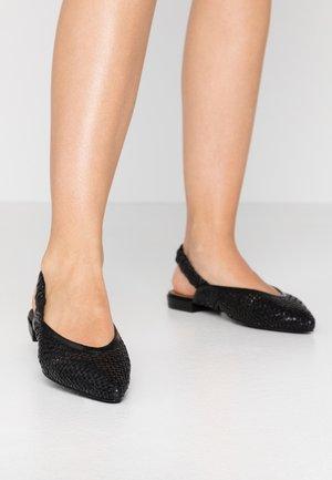 GOTJE - Slingback ballet pumps - black