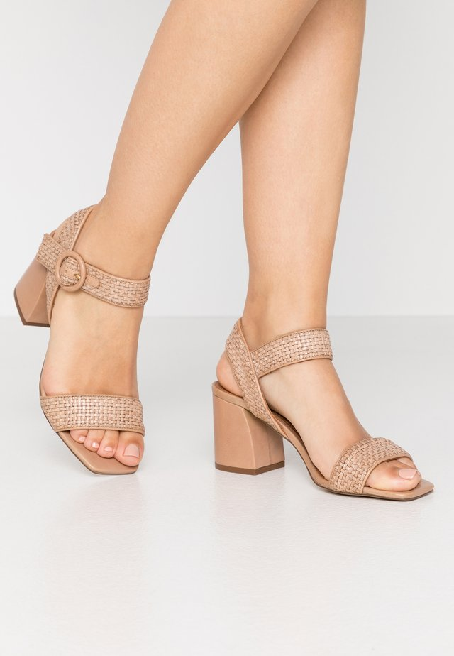INDRA - Sandals - beige/latté