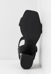 EDITED - INDRA - Sandals - black - 6