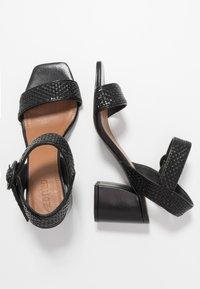 EDITED - INDRA - Sandals - black - 3