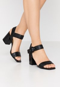 EDITED - INDRA - Sandals - black - 0