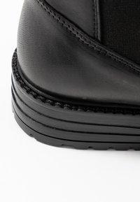 EDITED - GLADYS - Korte laarzen - black - 2