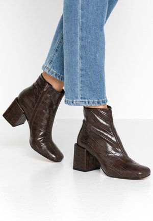 GARETH - Ankle boots - brown