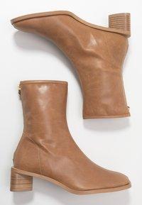 EDITED - ELLINOR - Classic ankle boots - beige latté - 3