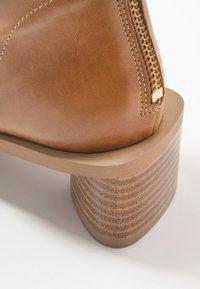 EDITED - ELLINOR - Classic ankle boots - beige latté - 2