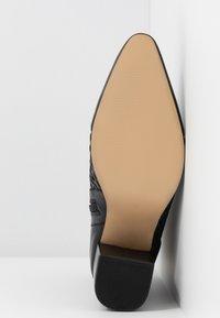 EDITED - HEDDA - Kotníkové boty - black - 6