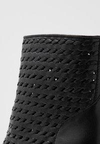 EDITED - HEDDA - Kotníkové boty - black - 2
