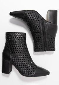 EDITED - HEDDA - Kotníkové boty - black - 3