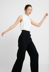 EDITED - LUCY TROUSERS - Bukse - black - 3