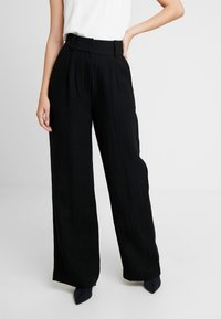 EDITED - LUCY TROUSERS - Bukse - black - 0