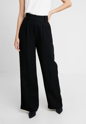 LUCY TROUSERS - Pantaloni - black