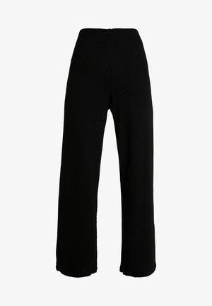 RIAN TROUSERS - Pantalon classique - black