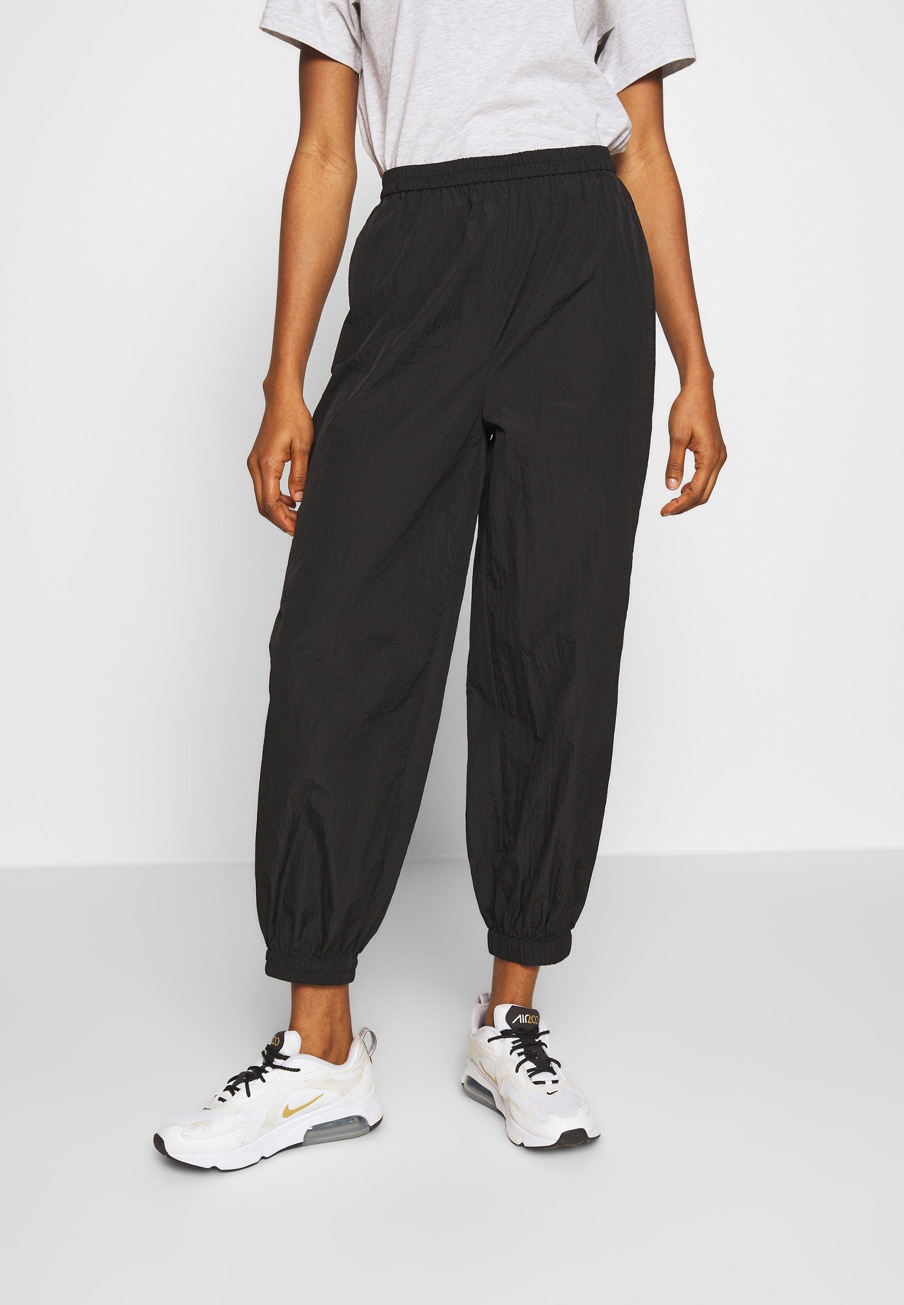 EDITED DINA TROUSERS - Spodnie materiałowe - schwarz