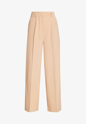KELLY TROUSERS - Trousers - beige