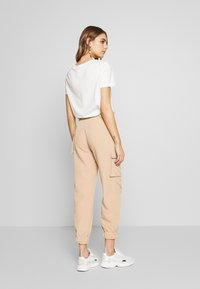 EDITED - SINA TROUSERS - Trousers - beige - 2