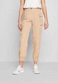 EDITED - SINA TROUSERS - Trousers - beige - 0