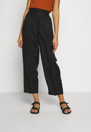 HAYDEN TROUSERS - Pantalones - black