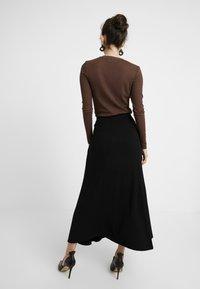 EDITED - AMILIA SKIRT - Jupe longue - black - 2