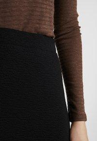 EDITED - AMILIA SKIRT - Jupe longue - black - 5