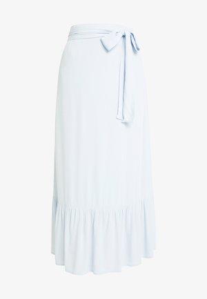 ILSA SKIRT - Maxi sukně - light blue