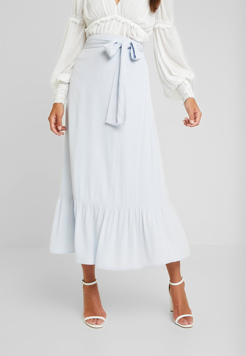 EDITED - ILSA SKIRT - Maxi skirt - light blue