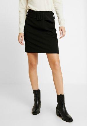 ODETTA SKIRT - A-line skirt - schwarz