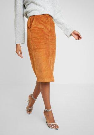 PAZ SKIRT - Pencil skirt - braun