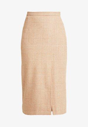 STEPH SKIRT - Pencil skirt - camel