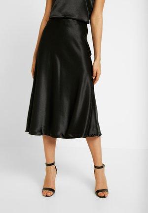 MAKANI SKIRT - A-line skirt - schwarz