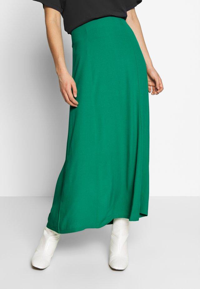 HEIDY SKIRT - Maxi skirt - green