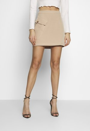 HETTY SKIRT - Minisukně - beige