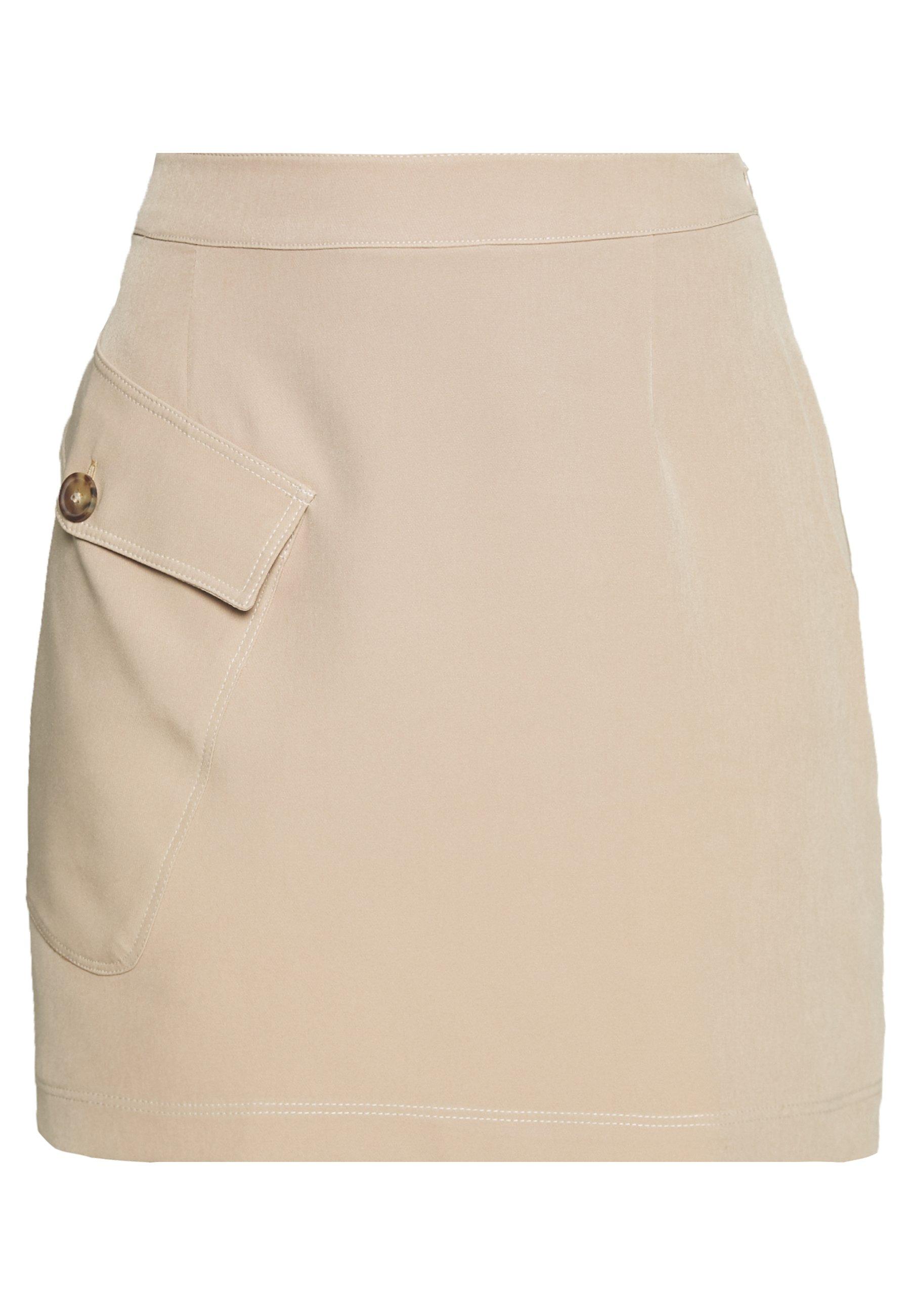 Edited Hetty Skirt - Minikjol Beige
