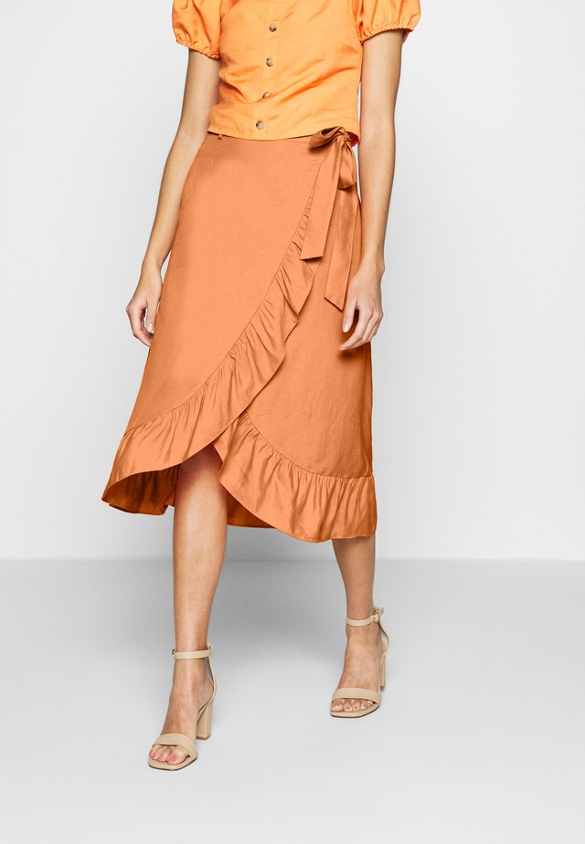 ISABEAU SKIRT - Wickelrock - bird of paradise