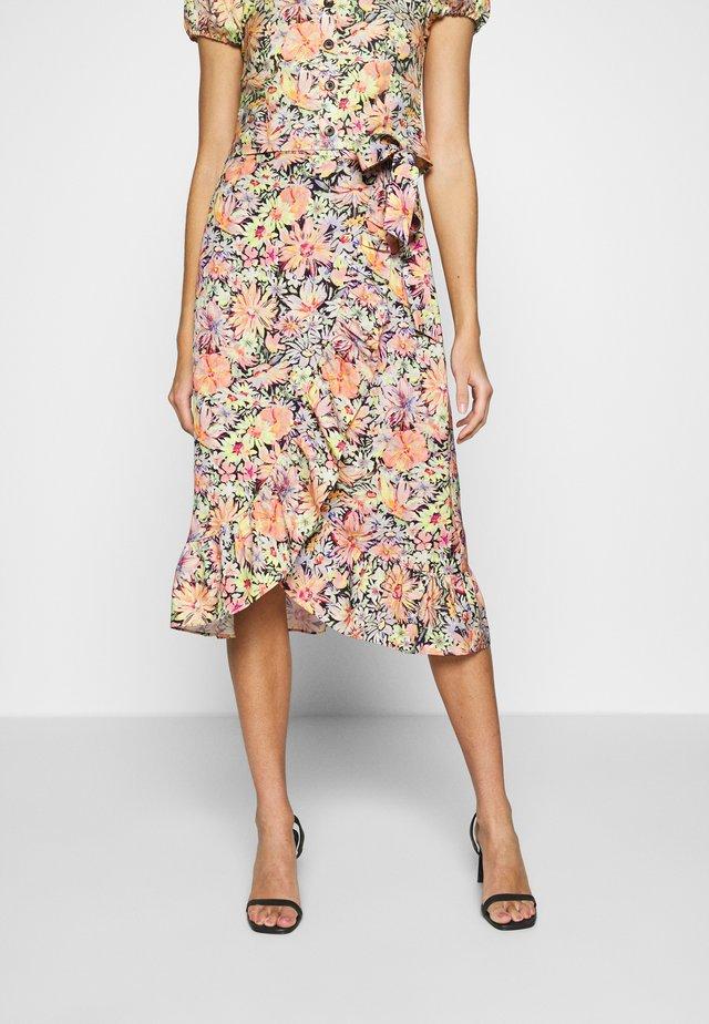 ISABEAU SKIRT - Wrap skirt - multi-coloured