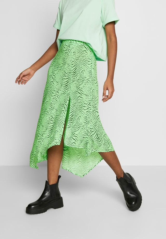 LUCINDA SKIRT - A-Linien-Rock - green