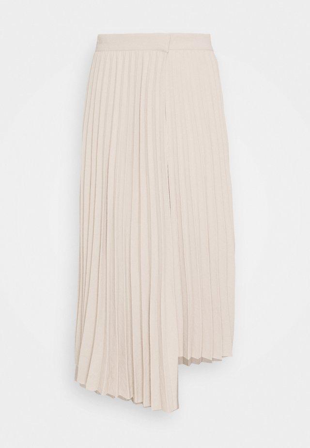 NORA SKIRT - A-linjekjol - beige