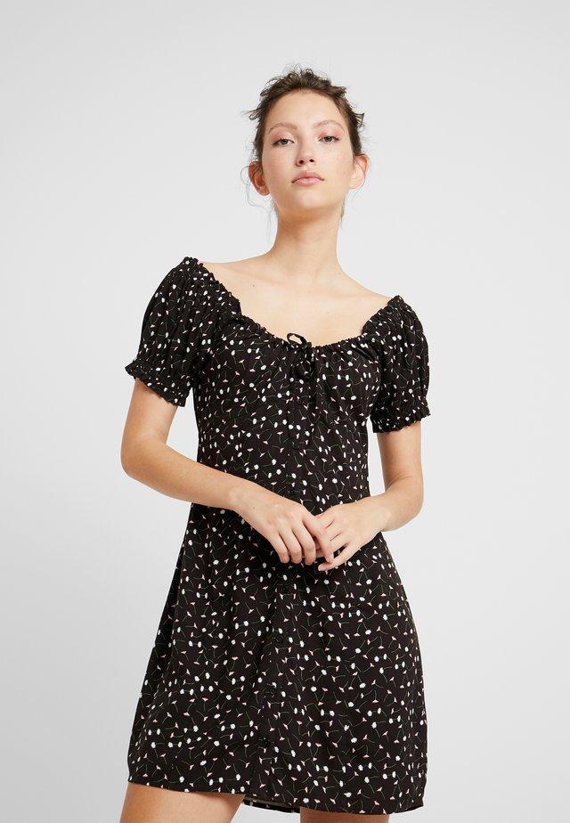 BRYCE DRESS - Sukienka koszulowa - brown